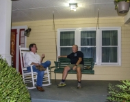Two Songwriters on the New Front  Porch