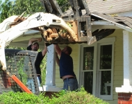Repairs to the porch
